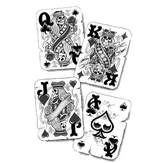 Wzór Tatuażu Hazard Monika Wypożyczalnia Sprzętu